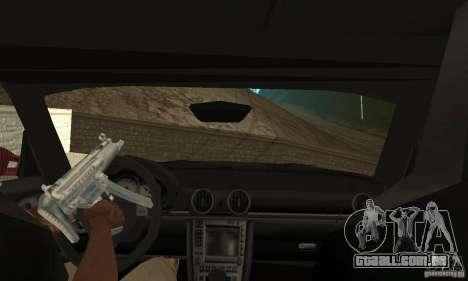 Porsche Cayman S para GTA San Andreas vista interior