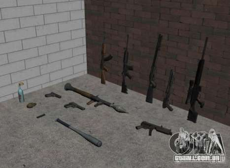 Armas do GTA IV para GTA San Andreas