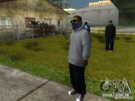 Crips para GTA San Andreas oitavo tela