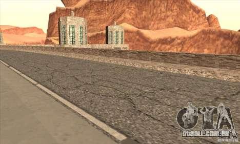 A nova barragem para GTA San Andreas sétima tela