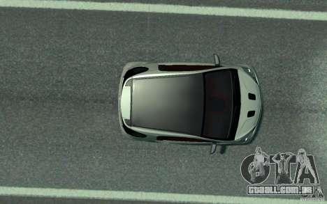 Aston Martin Cygnet 2011 para GTA 4 vista de volta