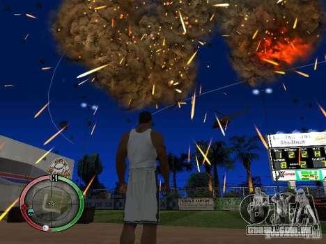 RAIN OF BOXES para GTA San Andreas quinto tela