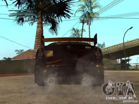 Skoda Octavia II Tuning para GTA San Andreas traseira esquerda vista