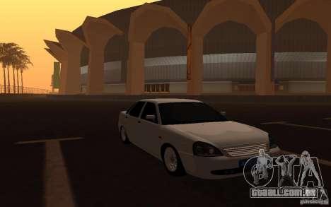 Lada Priora Light Tuning para GTA San Andreas vista direita