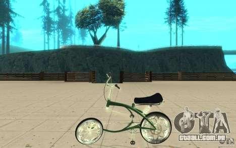 Custom Bike para GTA San Andreas esquerda vista