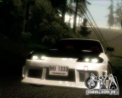 Nissan Silvia para GTA San Andreas vista superior