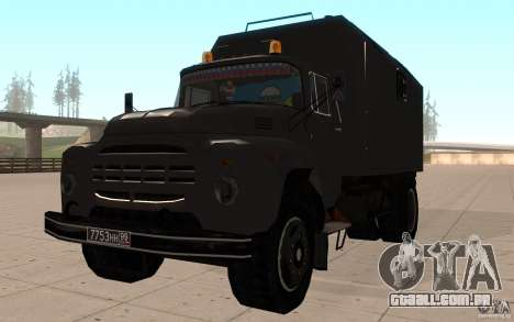 ZIL 130 rádio Butka para GTA San Andreas