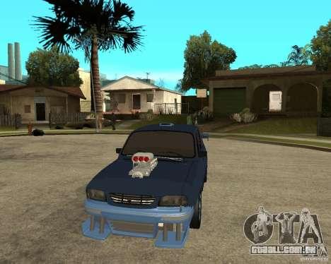 Dacia 1310 tuning para GTA San Andreas vista traseira