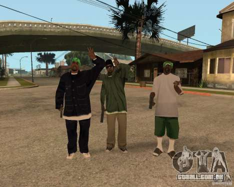 Bosque do Ballasy para GTA San Andreas segunda tela
