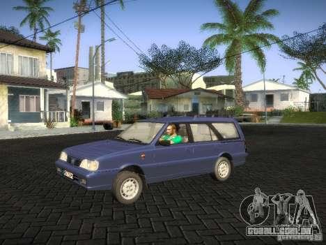 Daewoo FSO Polonez Kombi 1.6 2000 para GTA San Andreas traseira esquerda vista