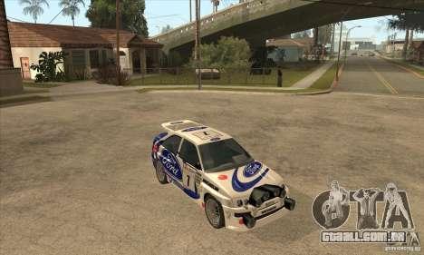Ford Escort RS Cosworth para o motor de GTA San Andreas
