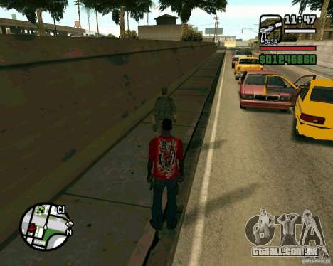 Soldados iraquianos para GTA San Andreas por diante tela