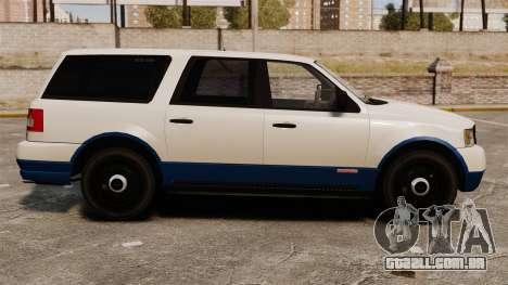 Polícia Landstalker ELS para GTA 4 esquerda vista