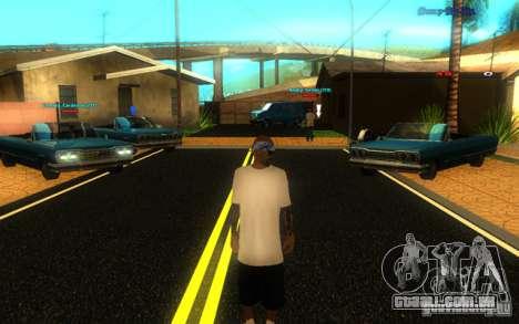 Novas texturas de El Corona para GTA San Andreas quinto tela