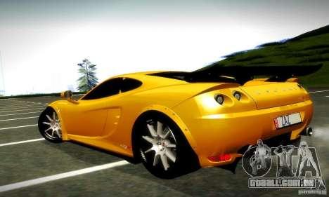 Ascari KZ1R Limited Edition para GTA San Andreas traseira esquerda vista
