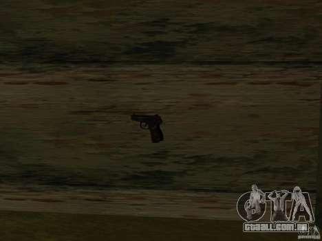 Armas de Pak nacionais para GTA San Andreas nono tela