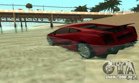 ENBSeries 0,075 (só água) para GTA San Andreas segunda tela
