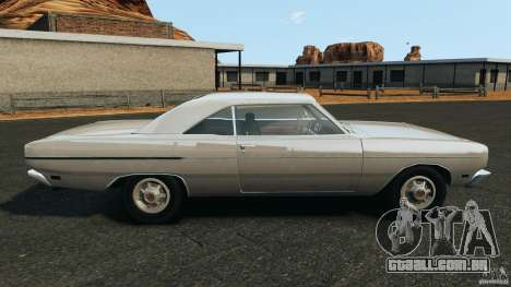 Dodge Dart 1969 [Final] para GTA 4 esquerda vista