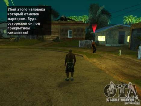 Killer Mod para GTA San Andreas segunda tela