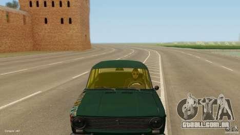 Baixo 2101 VAZ & Classic para GTA San Andreas vista direita