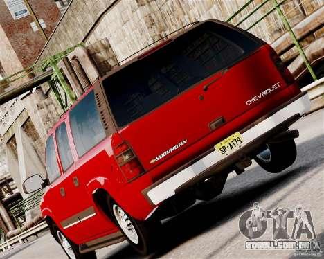 Chevrolet Suburban 2006 V1.1 CIVIL para GTA 4 vista direita