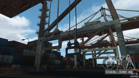 Tokyo Docks Drift para GTA 4 quinto tela