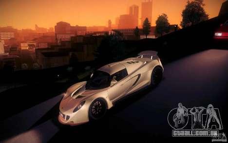 Hennessey Venom GT 2010 V1.0 para GTA San Andreas vista inferior
