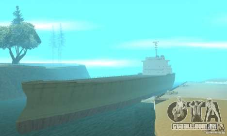 The G60 Ferry boat para GTA San Andreas