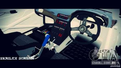 Nissan 380sx BenSpora para GTA 4 vista de volta