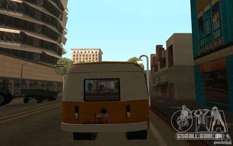 Kavz 3976 KAVZOZIL para GTA San Andreas vista direita