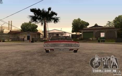 Chevrolet Impala 1960 para GTA San Andreas vista direita