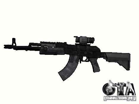 Armas do COD MW 2 para GTA San Andreas sexta tela