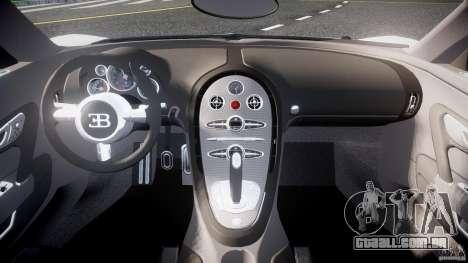 Bugatti Veyron 16.4 v1 para GTA 4 vista direita