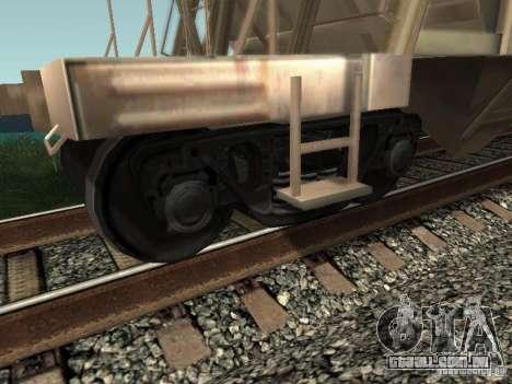 Tremonha de cimento para GTA San Andreas vista direita