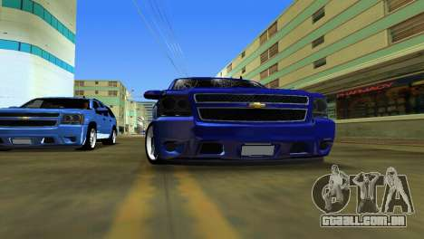 Chevrolet Tahoe 2011 para GTA Vice City vista direita