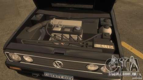 Volkswagen Golf para GTA 4 vista direita