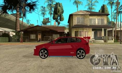 Alfa Romeo 147 para GTA San Andreas esquerda vista