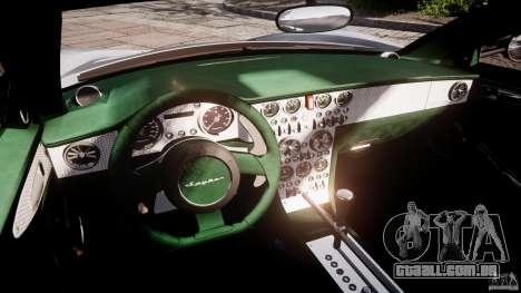 Spyker C8 Aileron v1.0 para GTA 4 vista interior