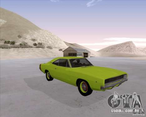 Dodge Charger RT 440 1968 para GTA San Andreas