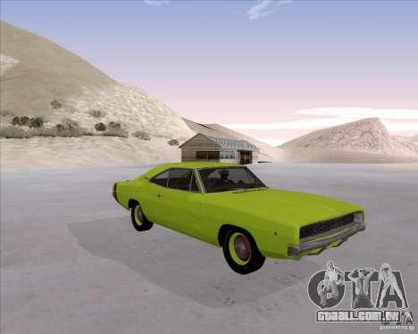 Dodge Charger RT 440 1968 para GTA San Andreas