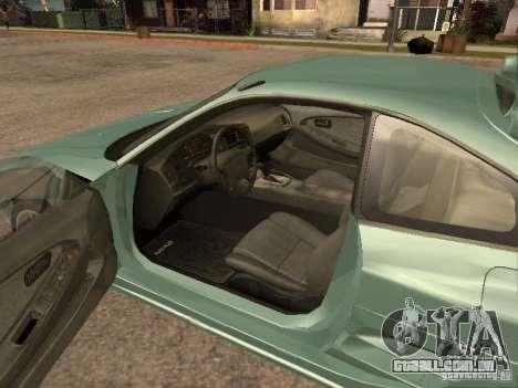 Toyota MR2 1994 TRD para GTA San Andreas vista traseira