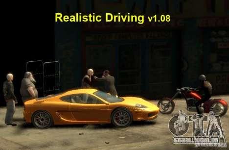 Realista de condução para GTA 4