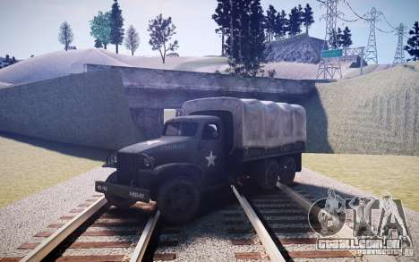 Millitary caminhão de Mafia II para GTA 4