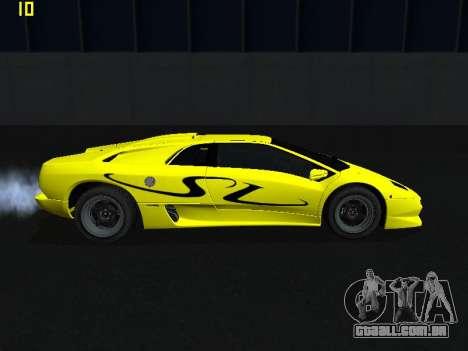 Lamborghini Diablo SV para GTA San Andreas esquerda vista