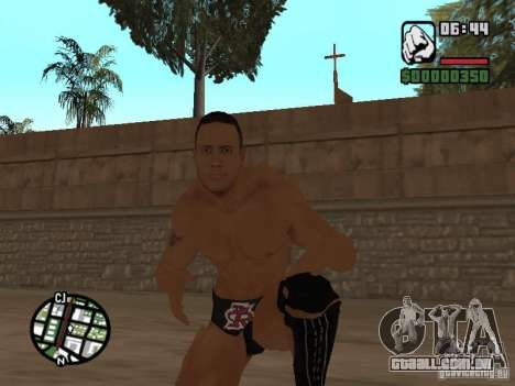 The rock para GTA San Andreas terceira tela