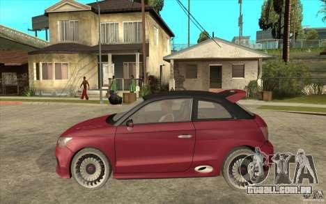Audi A1 Clubsport Quattro para GTA San Andreas esquerda vista