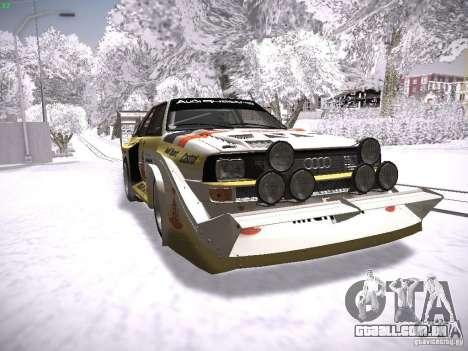 Audi Quattro Pikes Peak para GTA San Andreas
