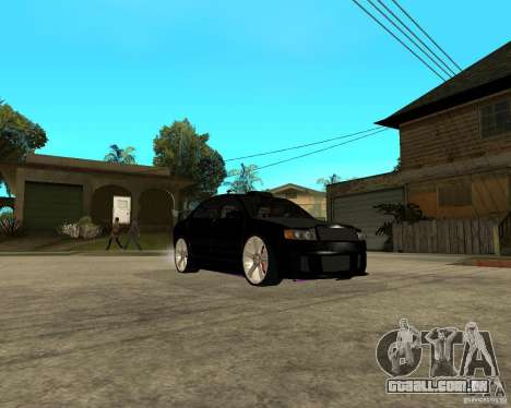 Skoda Superb HARD GT Tuning para GTA San Andreas vista interior