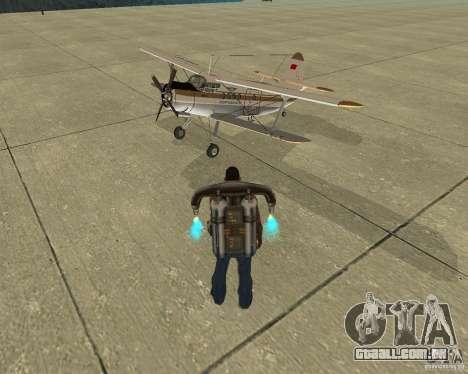 Transporte aéreo de Pak para o motor de GTA San Andreas