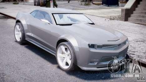 Chevrolet Camaro 2009 para GTA 4 vista direita